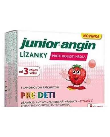 Junior-angin lízanky 8 ks