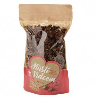 TOPNATUR Müslii srdcom Belgická čokoláda & brusnice 350 g