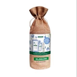 KLORANE Xmas lin pre objem vlasov 400 ml šampón + 50 ml balzam + 50 ml suchý šampón