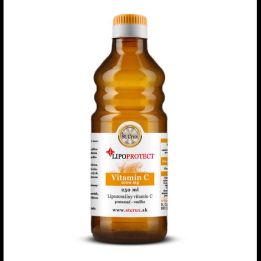 Lipoprotect LIPOPROTECT Vitamín C s príchuťou pomaranč - vanilka 250 ml