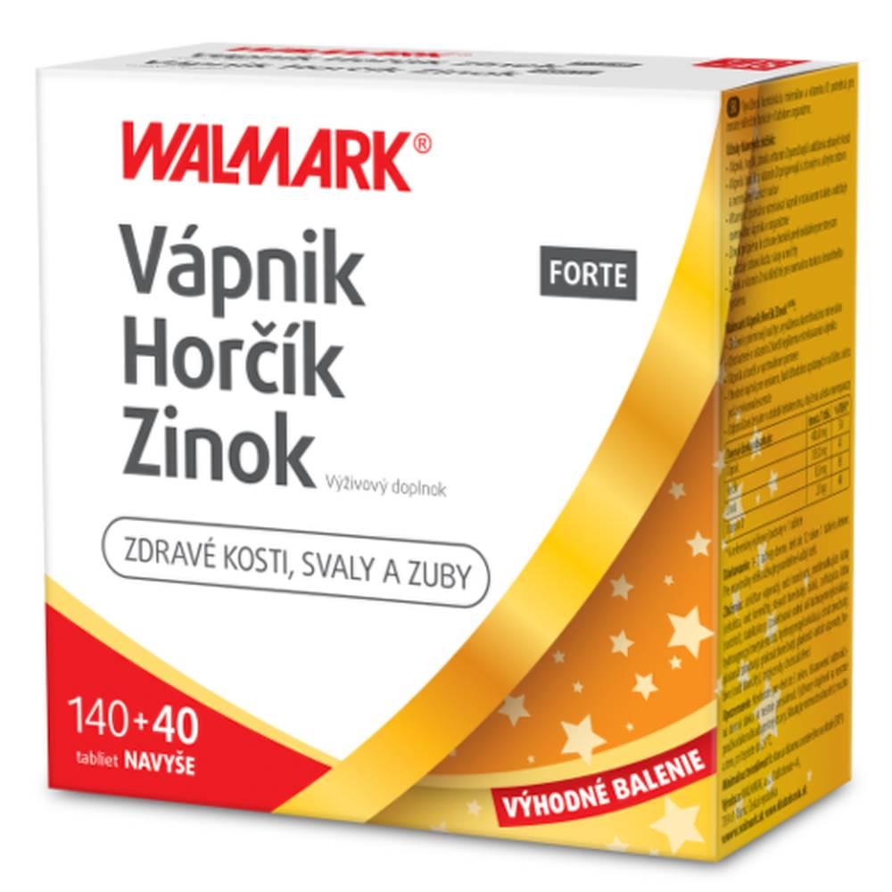 Walmark WALMARK Vápnik, horčik, zinok forte promo 2020 140 + 40 tabliet ZADARMO