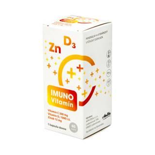 APATEKA Imuno vitamín (vitamín C + D + zinok) 60 kapsúl