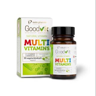 GOODVIT Natural multivitamins 30 kapsúl