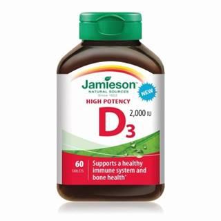 JAMIESON Vitamín D3 2000 IU 60 tabliet