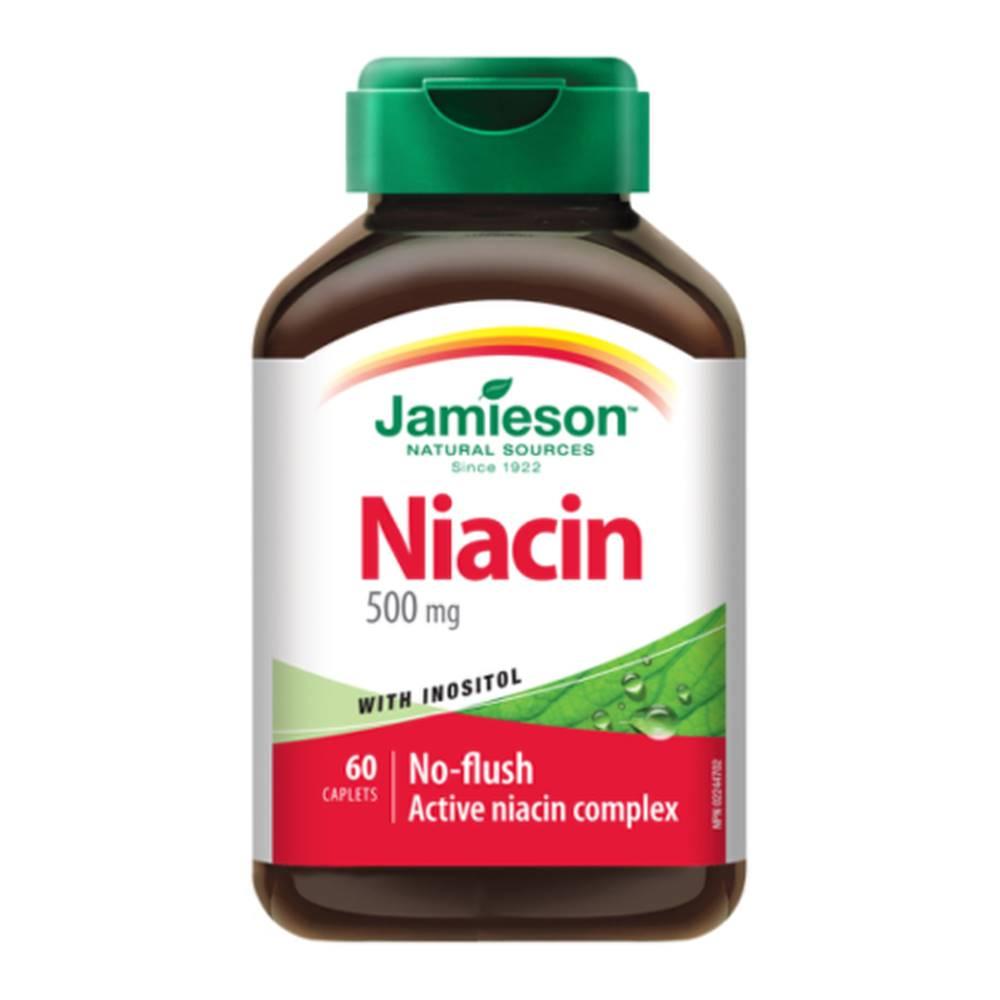 Jamieson JAMIESON Niacín 500 mg s inozitolom 60 tabliet