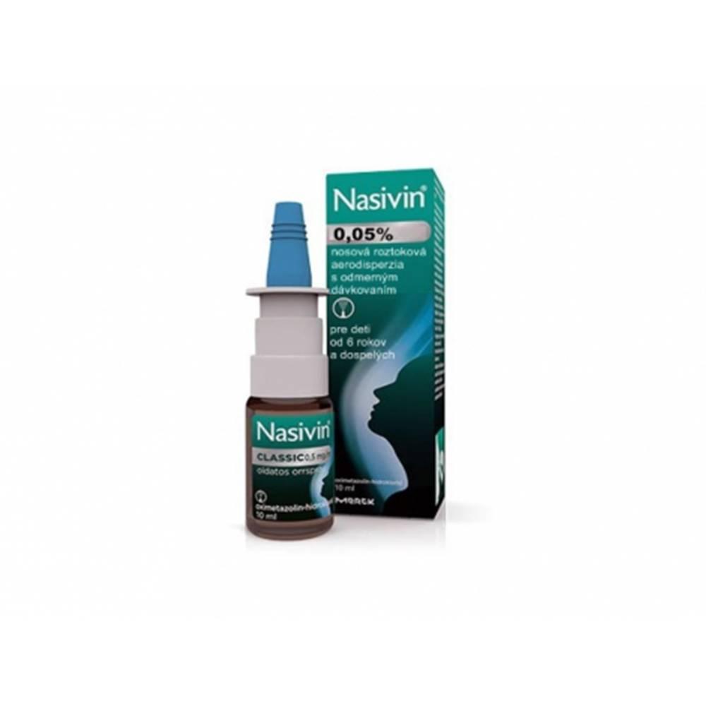 Merck Nasivin 0,05% pre dospelých sprej 10 ml
