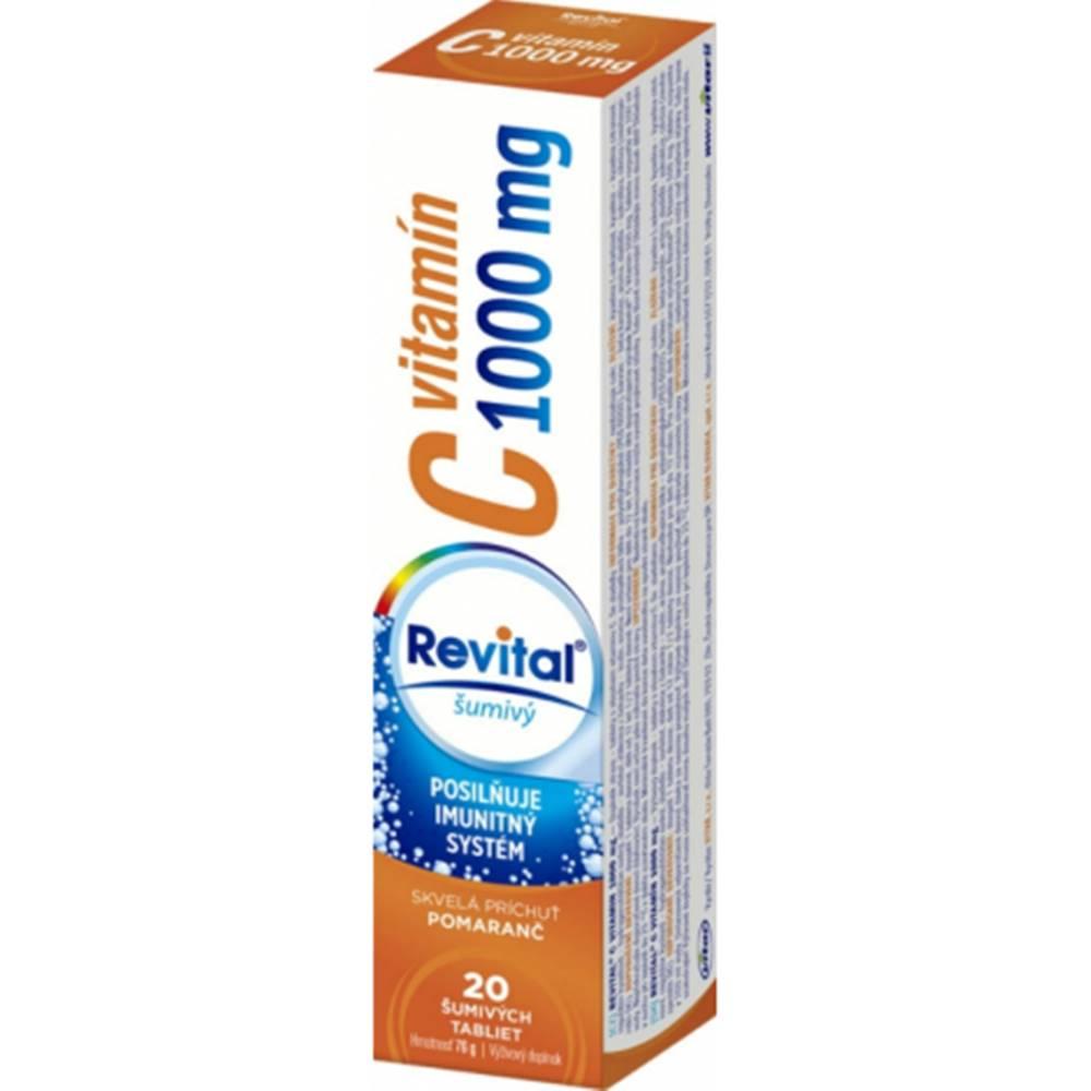 Vitar Revital vitamín C 1000 mg 20 šumivých tabliet limetka grep
