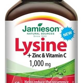 Jamieson Lyzín 1000 mg so zinkom a vitamínom C