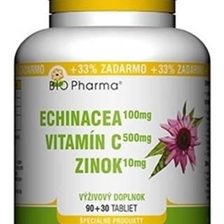 BIO Pharma Echinacea, Vitamín C, Zinok