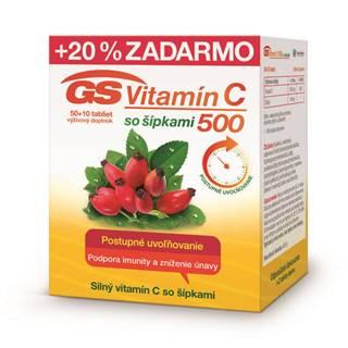 GS Vitamín C 500 so šípkami
