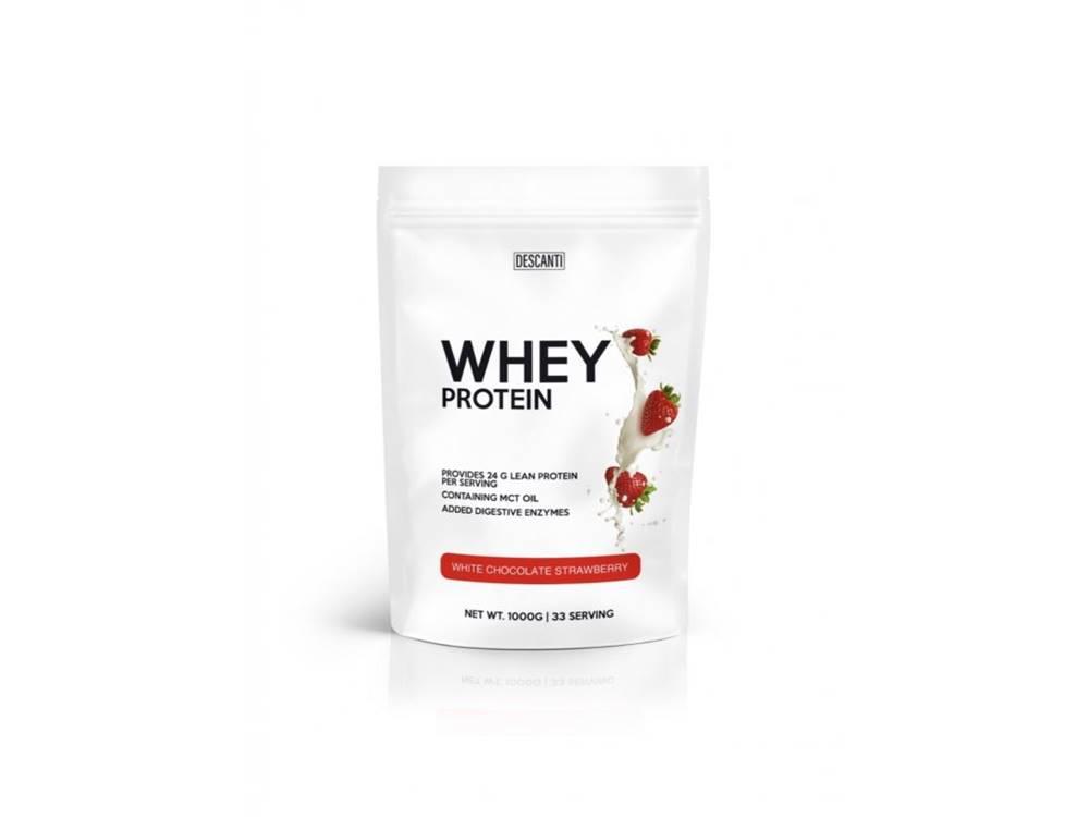 Descanti Descanti Whey Protein White Chocolate Strawberry 1000G