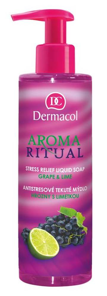 Dermacol DERMACOL AROMA RITUAL Tekuté mydlo Hrozno-limetka