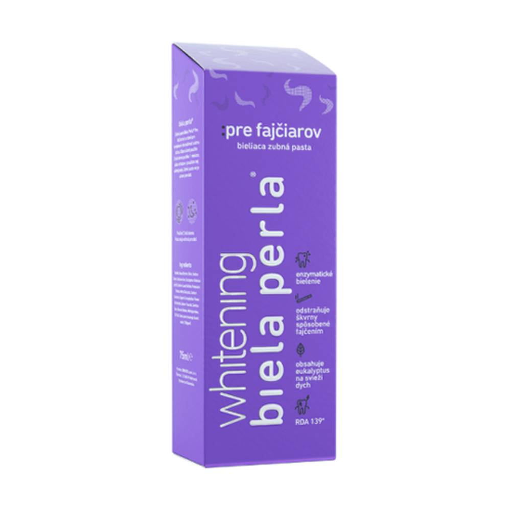Biela perla BIELA PERLA Pre fajčiarov zubná pasta 75 ml