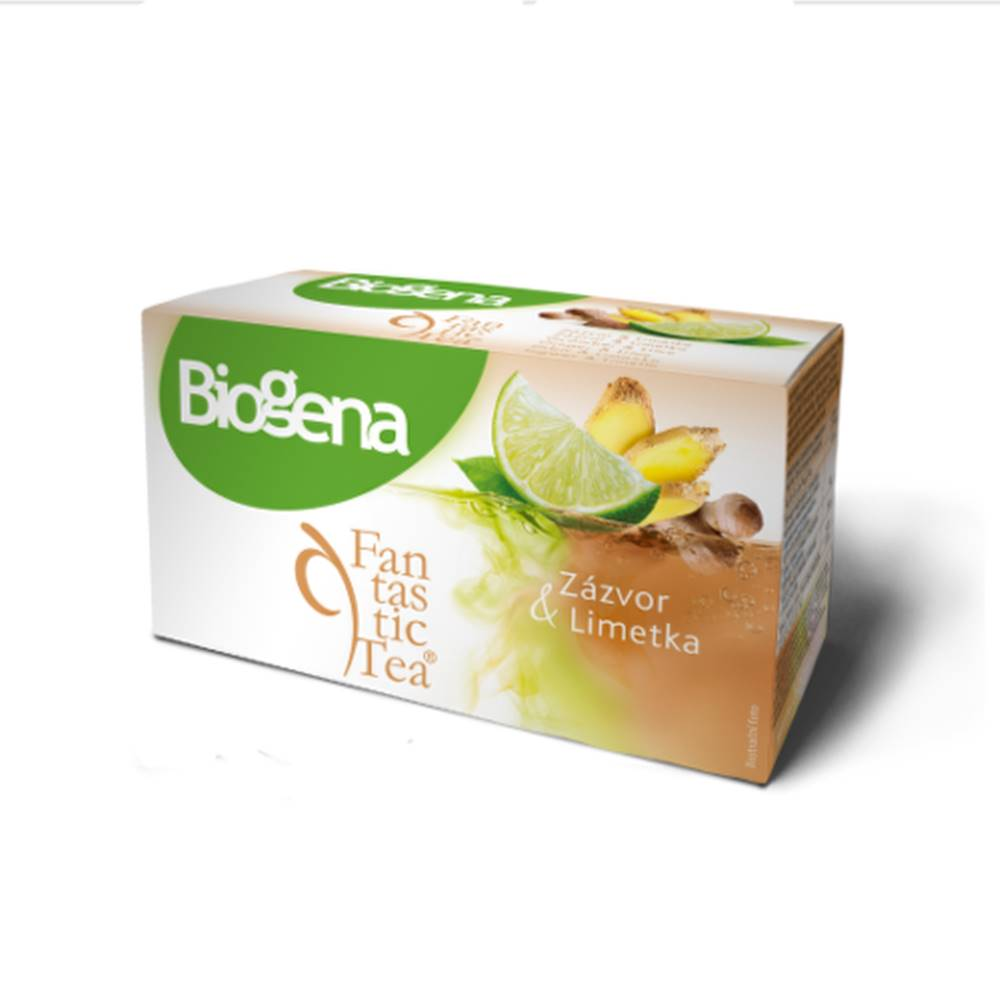 BIOGENA BIOGENA Fantastic tea zázvor & limetka 20 x 2 g