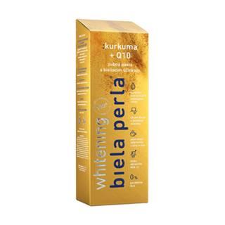 BIELA PERLA Kurkuma + Q10 zubná pasta 75 ml