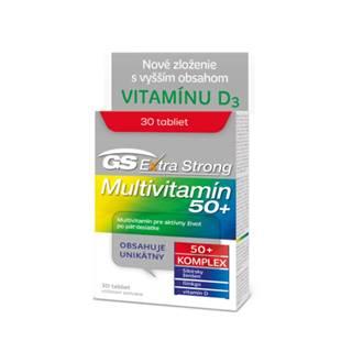 GS Extra strong multivitamin 50+ 30 tabliet
