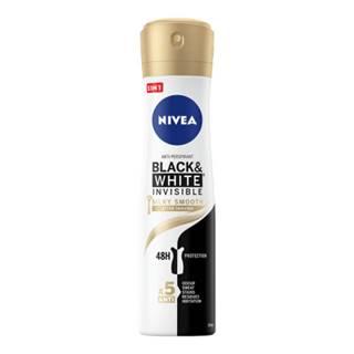 NIVEA Anti-perspirant black & white silky smooth sprej 150 ml
