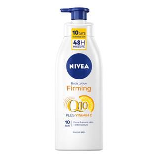NIVEA Spevňujúce telové mlieko firming Q10 + vitamín C 400 ml
