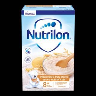 NUTRILON Obilno-mliečna kaša piškotová so 7 druhmi obilnín 225 ml