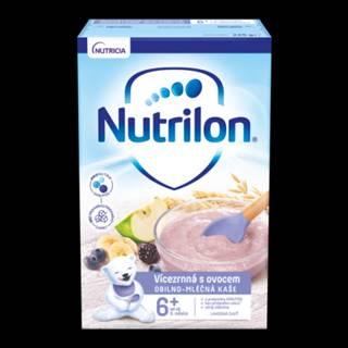 NUTRILON Obilno-mliečna kaša viaczrnná s ovocím 225 g