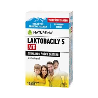 SWISS NATUREVIA laktobacily 5 atb/imunita s vitamínom C 10 kapsúl