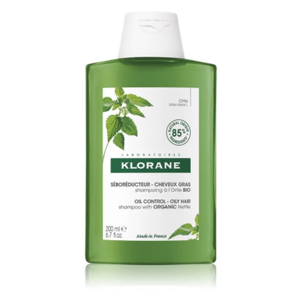 Klorane KLORANE Šampón s BIO žihľavou, znižuje tvorbu mazu, mastné vlasy 200 ml