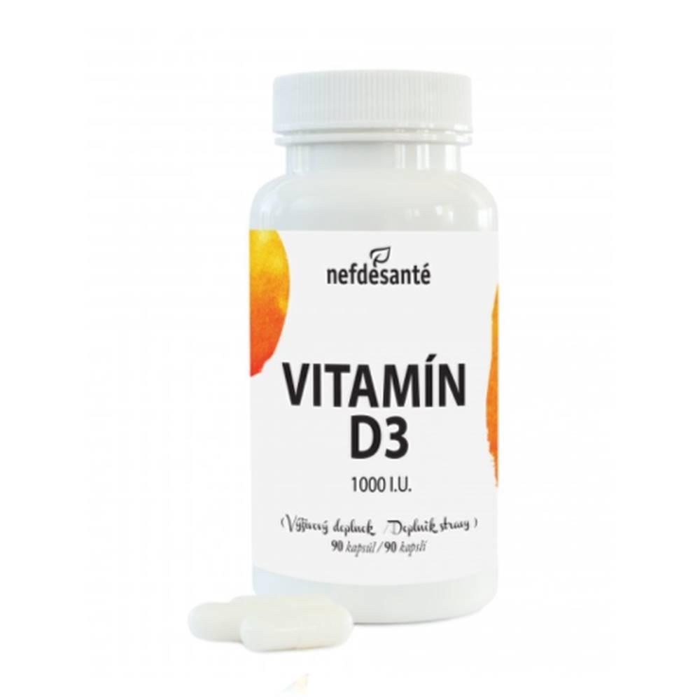 Nefdesante NEFDESANTÉ Vitamín D3 1000 I.U. 90 kapsúl