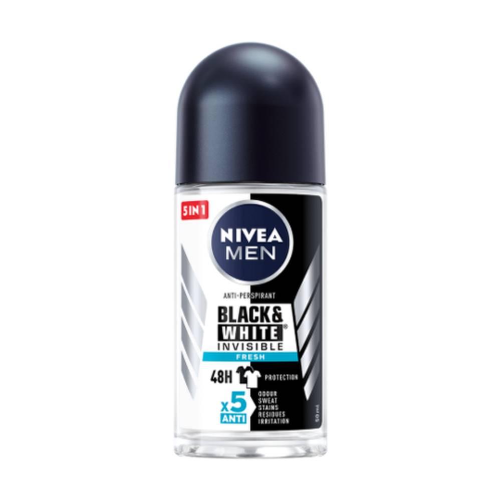 Nivea NIVEA Men anti-perspirant black & white original guľôčkový 50 ml