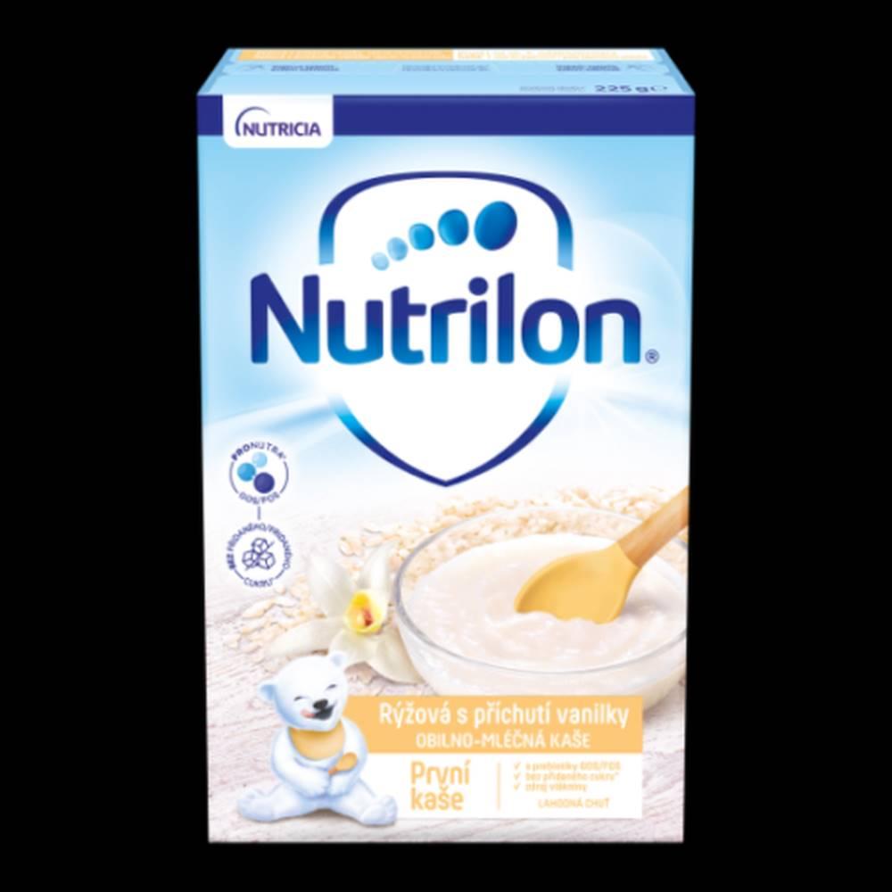NUTRILON NUTRILON Obilno-mliečna prvá kaša ryžova s príchuťou vanilky 225 g