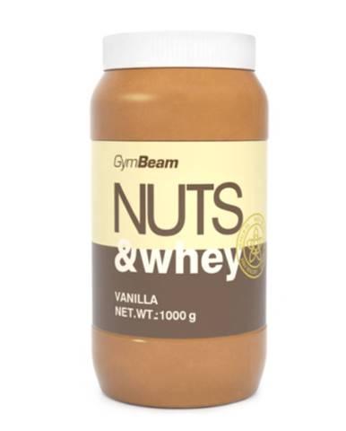 GYMBEAM Proteínové arašidové maslo Nuts & Whey príchuť vanilka 1 kg