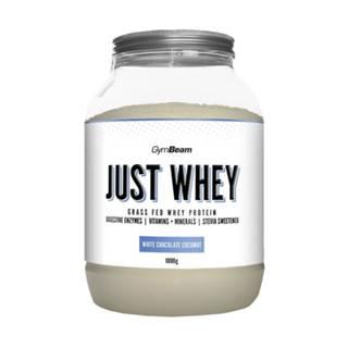 GYMBEAM Proteín just whey príchuť biela čokoláda a kokos 1 000 g