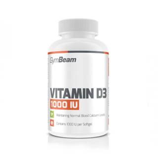 GYMBEAM Vitamín D3 1000 IU 120 kapsúl
