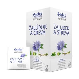 HERBEX Premium žaludok a črevá, bylinná zmes 20 x 1,5 g