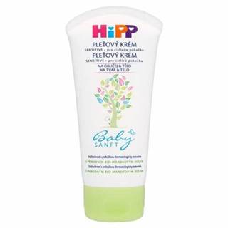 HIPP BabySANFT Pleťový krém sensitive 75 ml
