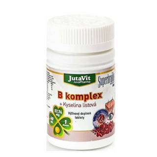JUTAVIT B-komplex + kyselina listová 60 tabliet