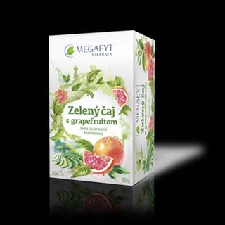 MEGAFYT Zelený čaj s grapefruitom 20x1,5 g
