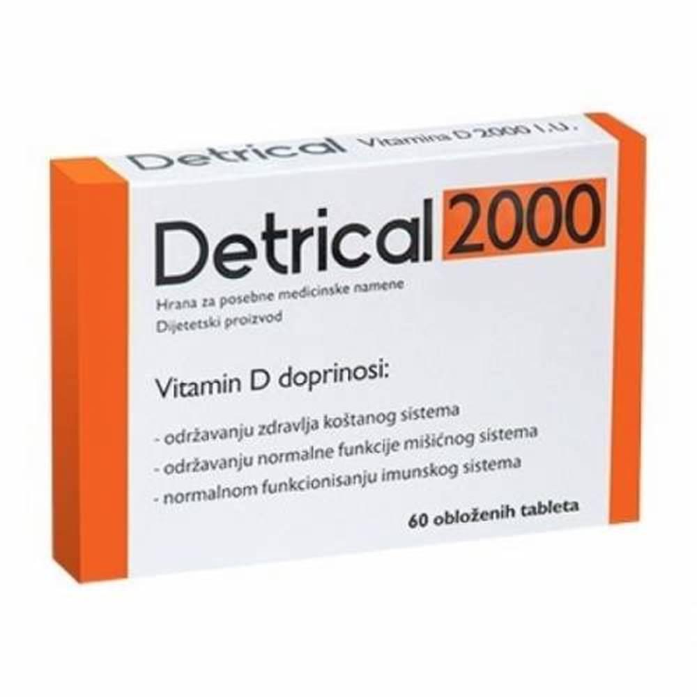 Detrical DETRICAL 2000 vitamín D 60 kapsúl
