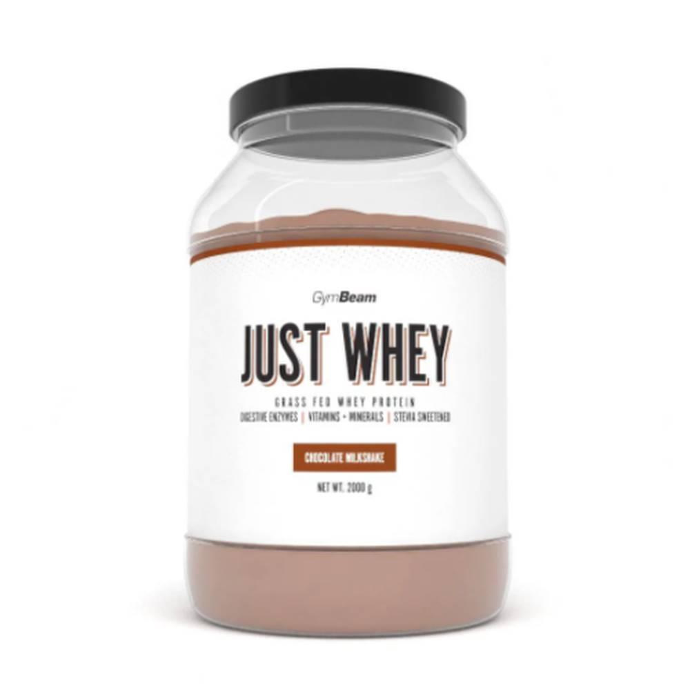 GymBeam GYMBEAM Proteín just whey príchuť čokoládový milkshake 2 000 g