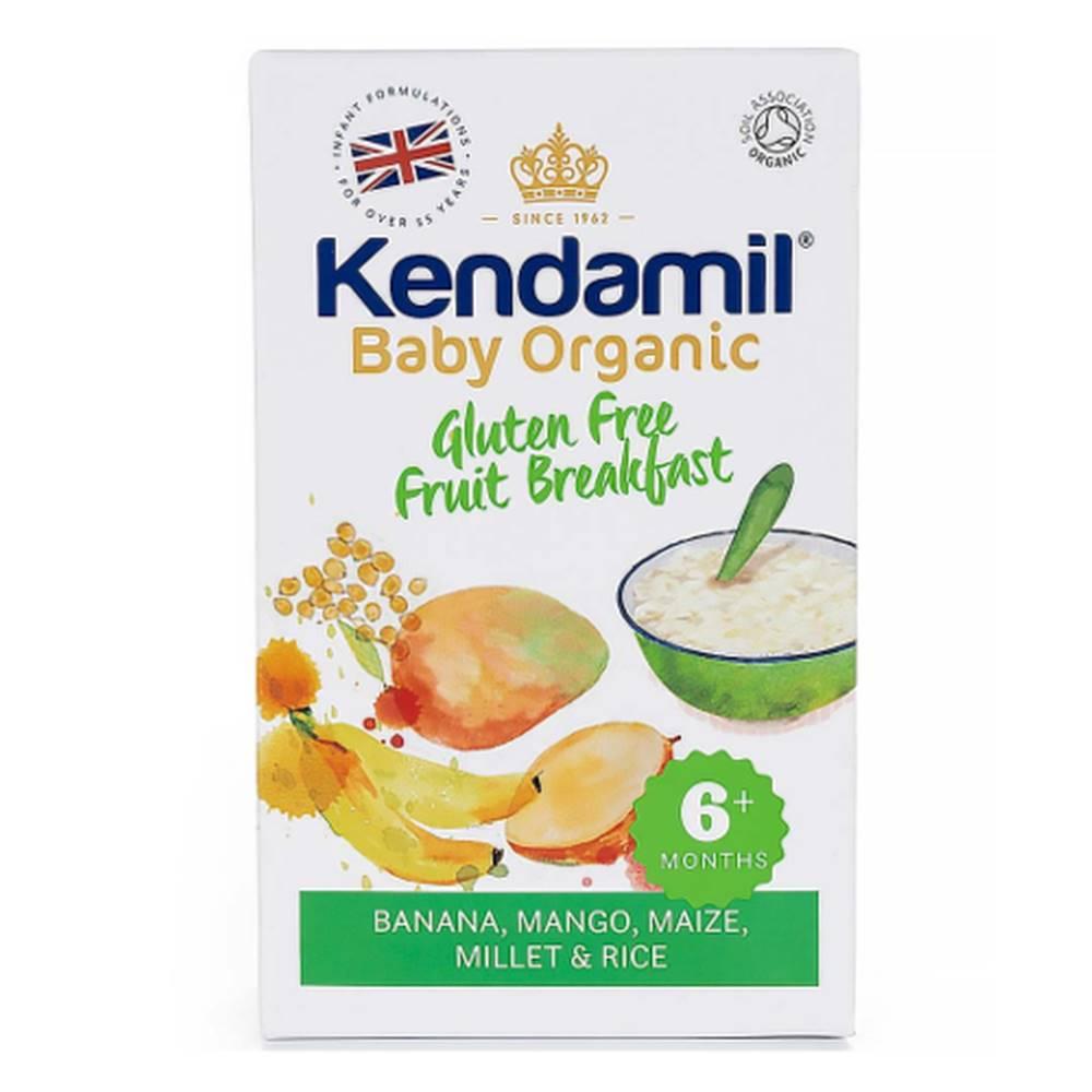 Kendamil KENDAMIL Organic, BIO bezgluénová kaša ovocné raňajky 150 g