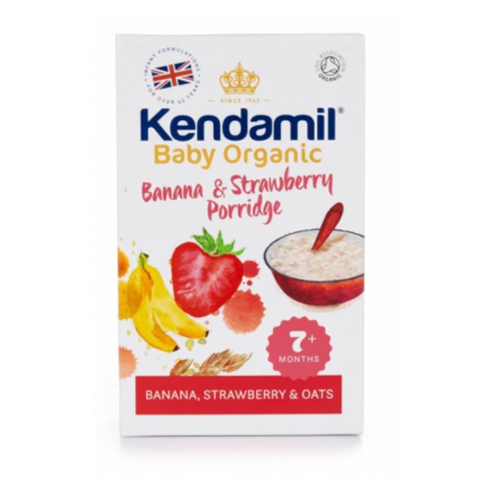 Kendamil KENDAMIL Organic BIO kaša banán a jahoda 150 g