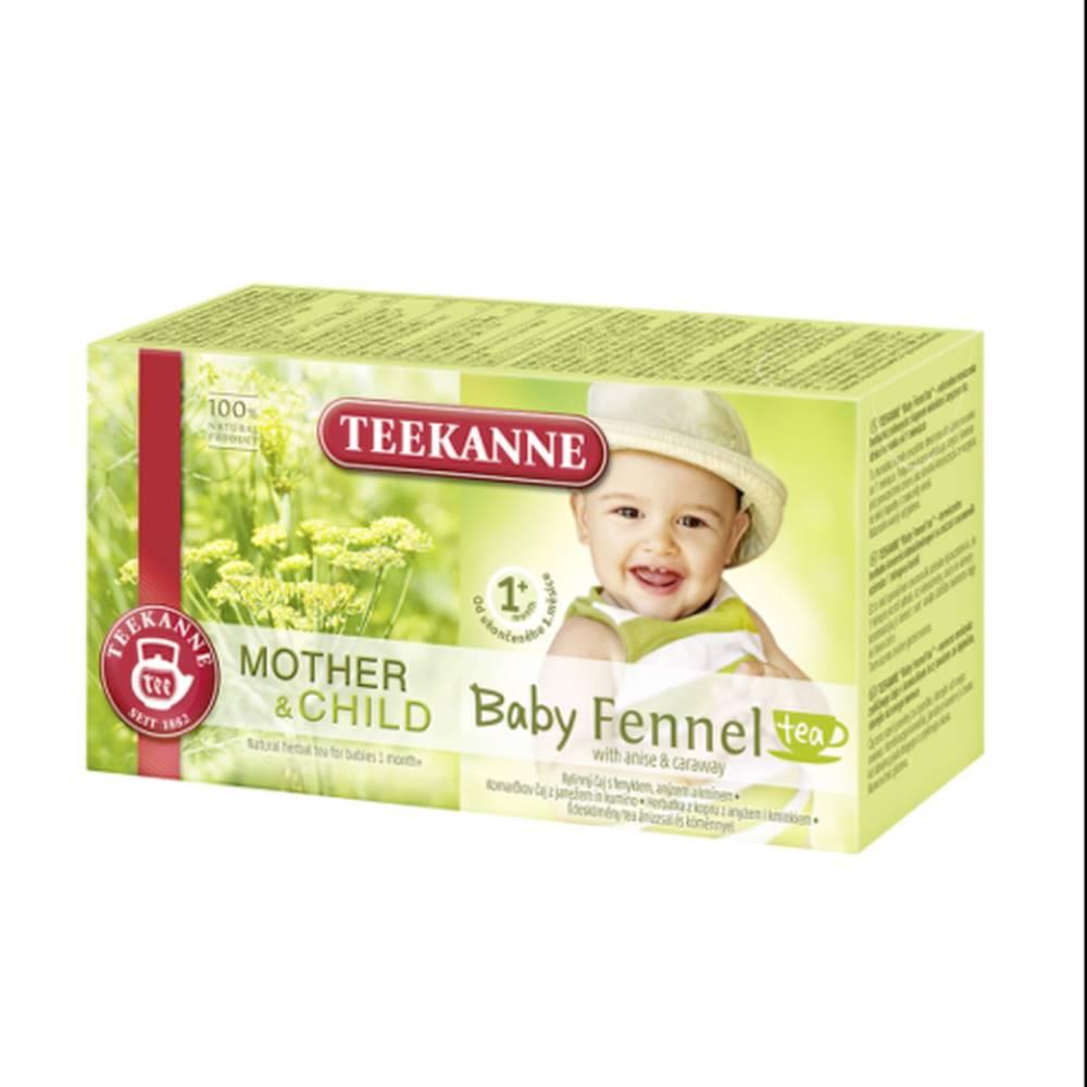 Teekanne TEEKANNE M&CH Baby fennel tea 1m+ 20 x 1,8 g