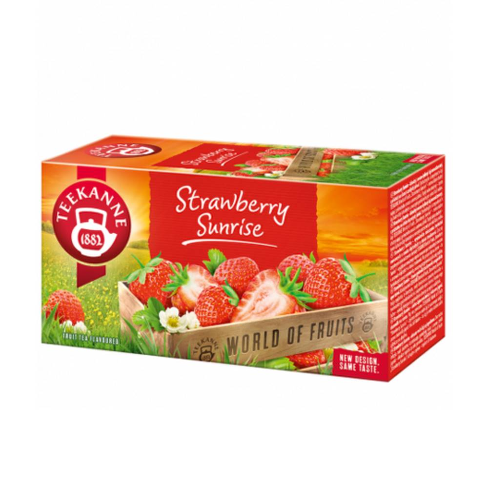 Teekanne TEEKANNE WOF Strawberry sunrise 20 x 2,5 g
