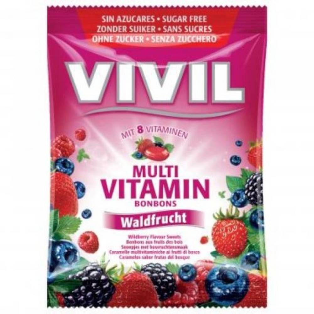 VIVIL Cukríky multivitamín ...