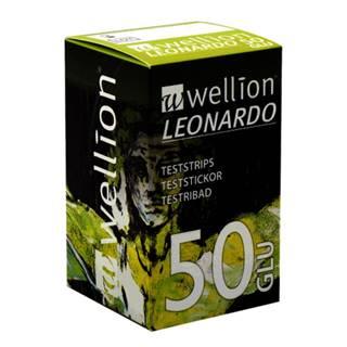 WELLION Leonardo GLU prúžky testovacie (1 balenie) 1x50 ks