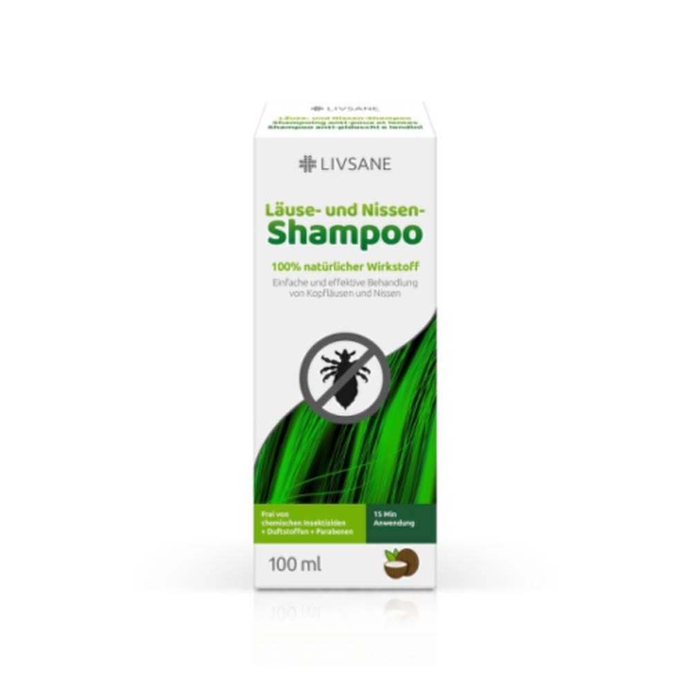 LIVSANE LIVSANE Šampón proti všiam a hnidám 100 ml