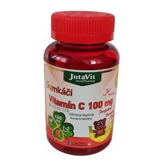 JUTAVIT Gumkáči vitamín C 100 mg kids 60 tabliet