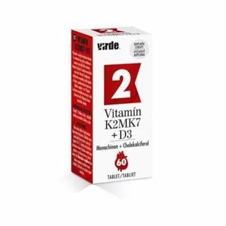 VIRDE Vitamín K2 MK7 + D3 60 tabliet