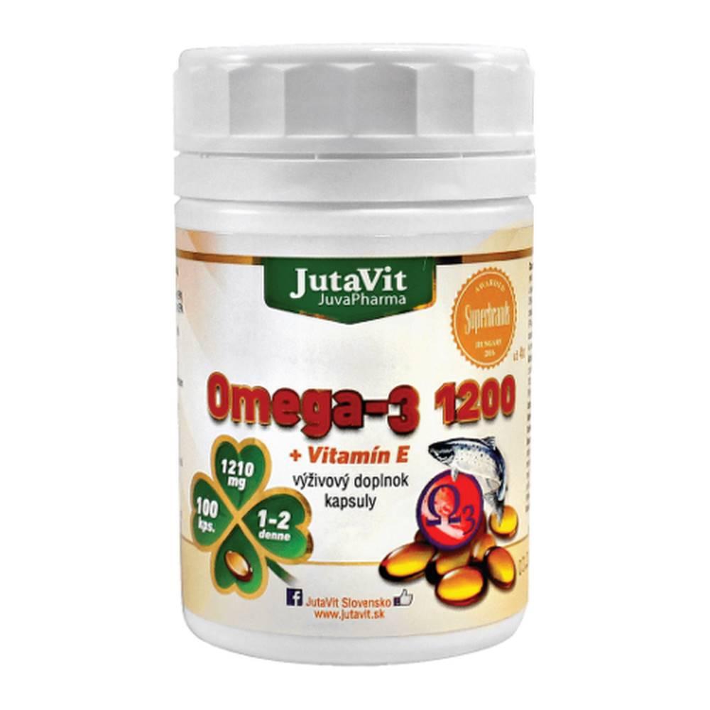 JUTAVIT JUTAVIT Omega-3 1200 + vitamín E 100 lapsúl