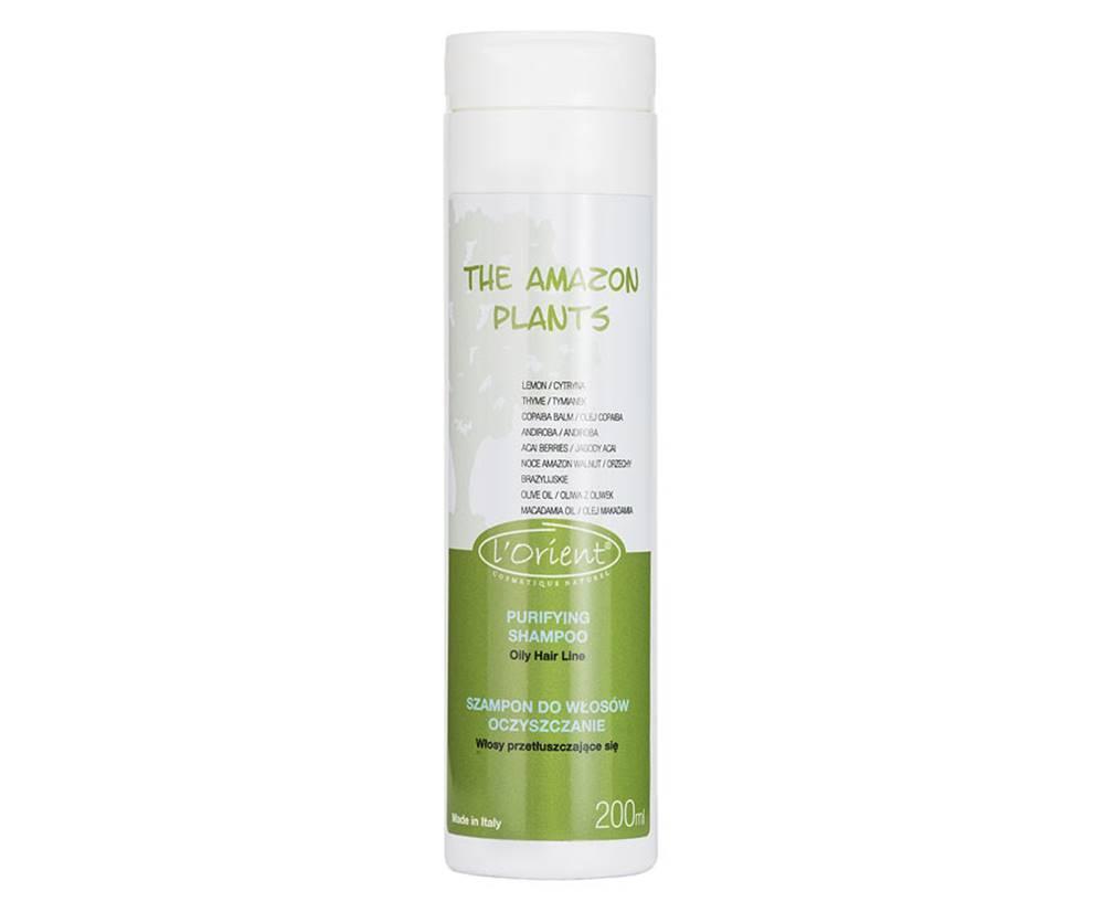 L´Orient Cosmetique Naturel L 'Orient Amazon plants, čistiaci šampón 200 ml