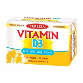 TEREZIA Vitamín D3 1000 IU 90 kapsúl